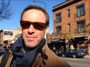 Chicagoan Steve Schwartz often uses Divvy for transportation. Photo by Melanie Stone